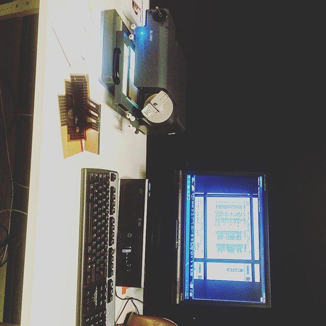 Microfiches scannen #keyznking # voorbereiding #iveco #microfiche