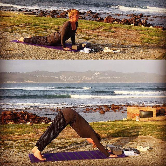 Vera groet de zon! #keyznking #yogapractice #practicemakesbetter #healthymind #healthybody
