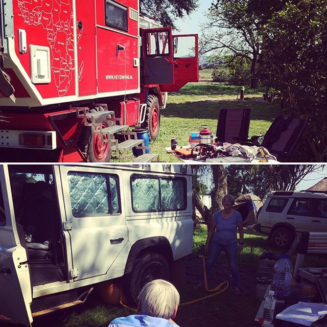 A typical sunday for Overlanders…