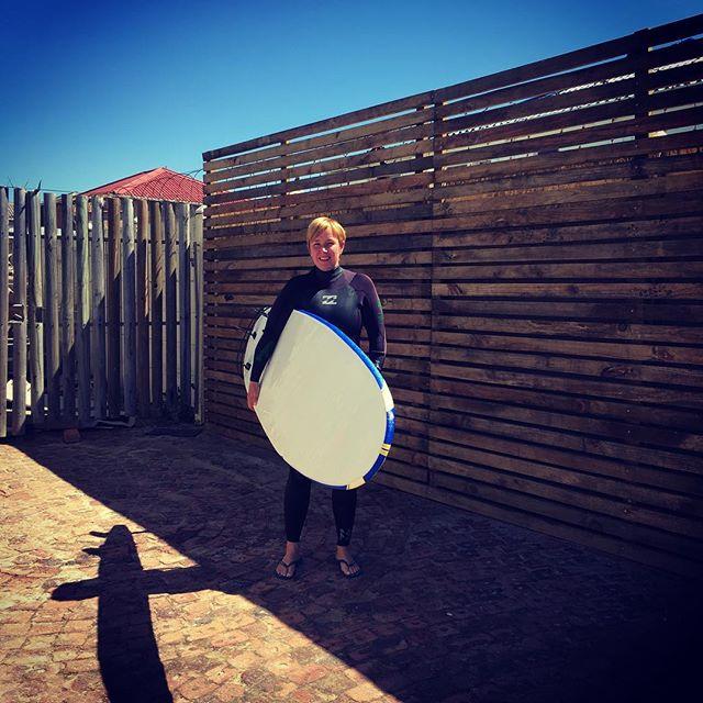 Vera gaat surfen!