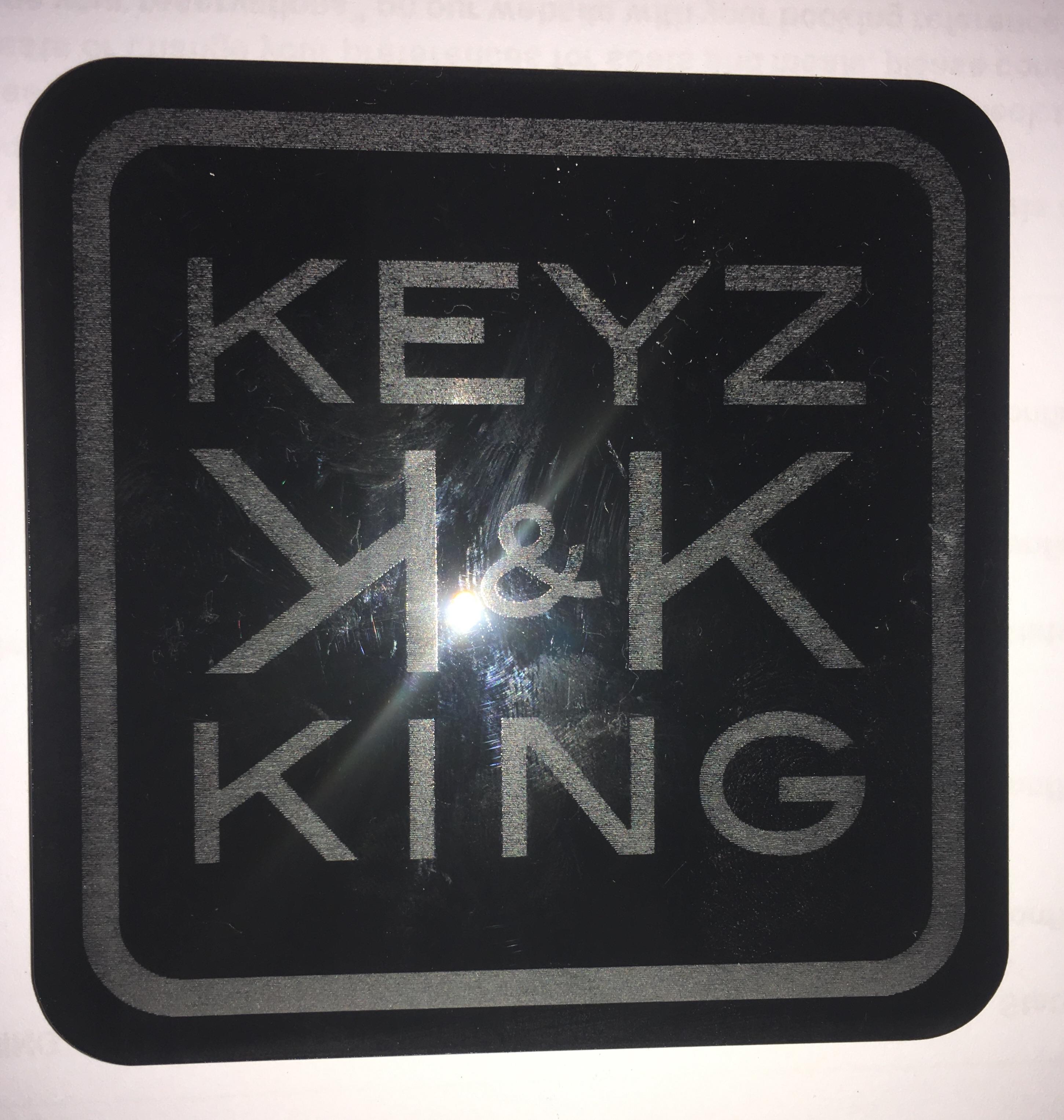 Reserve sleutels en onderzetters