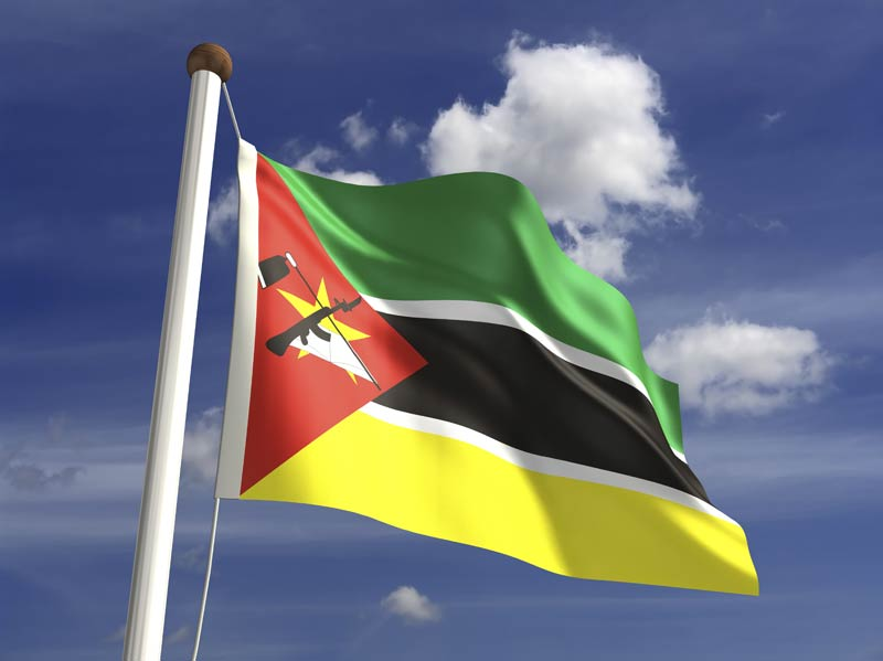 Bem-vindo a Moçambique – um bom dia